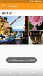 Transferir fotos vía Bluetooth - Sony Xperia XZ Premium - Passo 15