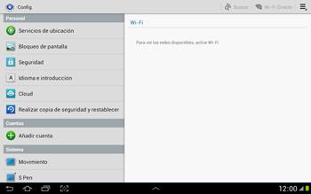 Restaura la configuración de fábrica - Samsung Galaxy Note 10-1 - N8000 - Passo 4