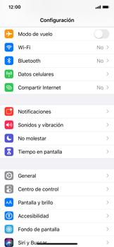 Cómo seleccionar una red en tu teléfono manualmente - Apple iPhone XS - Passo 3