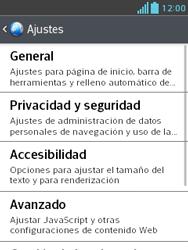 Configura el Internet - LG Optimus L3 II - Passo 21