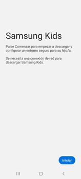 Cómo habilitar el Ambiente de Niños - Samsung Galaxy S20 - Passo 4