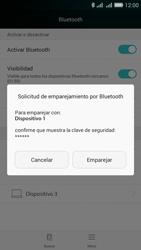 Conecta con otro dispositivo Bluetooth - Huawei G Play Mini - Passo 6