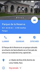 Uso de la navegación GPS - Huawei Y3 II - Passo 11
