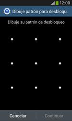 Desbloqueo del equipo por medio del patrón - Samsung Galaxy Trend Plus S7580 - Passo 8
