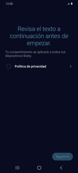 Cómo habilitar el asistente Bixby - Samsung Galaxy S20 - Passo 11