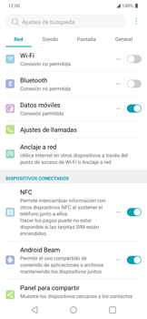 Configura el WiFi - LG K40S - Passo 3
