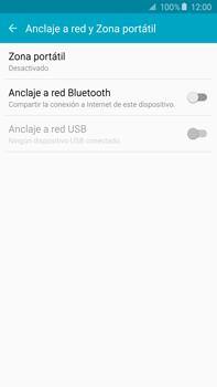 Configura el hotspot móvil - Samsung Galaxy Note 5 - N920 - Passo 5