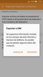 ¿Tu equipo puede copiar contactos a la SIM card? - Samsung Galaxy S6 - G920 - Passo 9