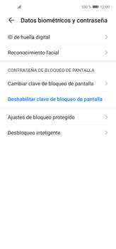 Cómo cambiar el código de bloqueo de pantalla de tu teléfono - Huawei P40 Lite - Passo 3