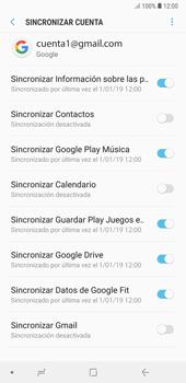 Desactivar la sincronización automática - Samsung A7 2018 - Passo 11