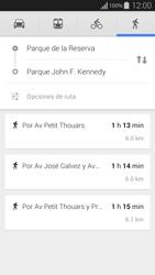 Uso de la navegación GPS - Samsung Galaxy Alpha - G850 - Passo 15
