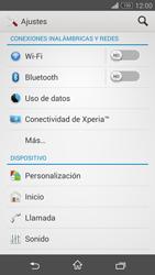 Configura el WiFi - Sony Xperia Z3 Compact - Passo 4
