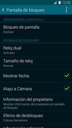 Desbloqueo del equipo por medio del patrón - Samsung Galaxy S5 - G900F - Passo 5