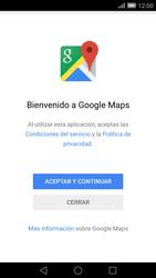 Uso de la navegación GPS - Huawei Ascend Mate 7 - Passo 4