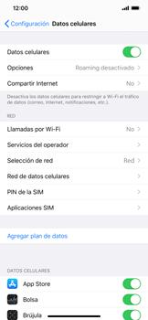 Desactiva tu conexión de datos - Apple iPhone 11 - Passo 3
