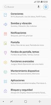 Configura el hotspot móvil - Samsung Galaxy S9 - Passo 4