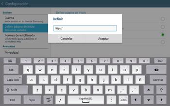 Configura el Internet - Samsung Galaxy Note Pro - Passo 23