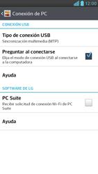 Comparte la conexión de datos con una PC - LG Optimus G Pro Lite - Passo 5
