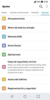 Limpieza de aplicación - LG Q6 - Passo 3