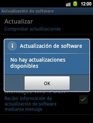 Actualiza el software del equipo - Samsung Galaxy Y  GT - S5360 - Passo 10