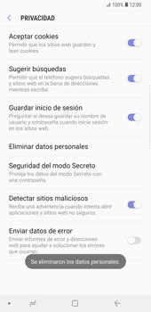 Limpieza de explorador - Samsung Galaxy S9 Plus - Passo 11