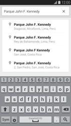 Uso de la navegación GPS - Samsung Galaxy S5 - G900F - Passo 10