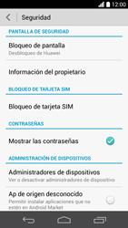 Desbloqueo del equipo por medio del patrón - Huawei Ascend P6 - Passo 5