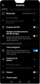 Captura con inteligencia artificial - Huawei P20 Pro - Passo 4
