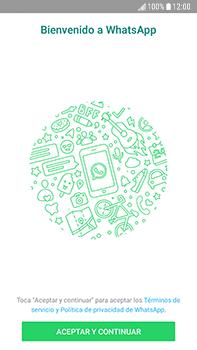 Configuración de Whatsapp - Samsung Galaxy J7 Prime - Passo 4