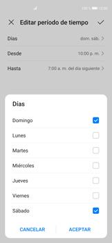 Cómo configurar el modo no molestar - Huawei P40 - Passo 7