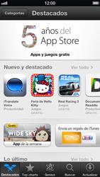 Instala las aplicaciones - Apple iPhone 5 - Passo 3