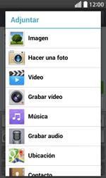 Envía fotos, videos y audio por mensaje de texto - LG L70 - Passo 13