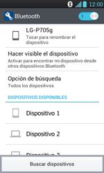 Conecta con otro dispositivo Bluetooth - LG Optimus L7 - Passo 7
