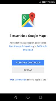 Uso de la navegación GPS - Huawei G8 Rio - Passo 4