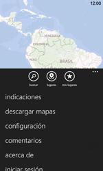 Uso de la navegación GPS - Nokia Lumia 720 - Passo 6