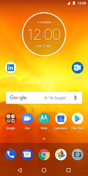 Realiza una copia de seguridad con tu cuenta - Motorola Moto E5 - Passo 1