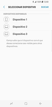 Transferir fotos vía Bluetooth - Samsung Galaxy S8 - Passo 11