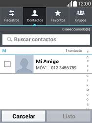 Envía fotos, videos y audio por mensaje de texto - LG L20 - Passo 5