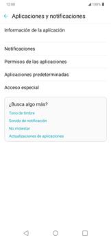 Desinstalar aplicaciones - LG K50s - Passo 4