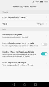 Desbloqueo del equipo por medio del patrón - Huawei Mate 8 - Passo 4