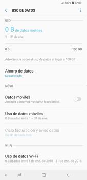 Desactiva tu conexión de datos - Samsung Galaxy Note 9 - Passo 7