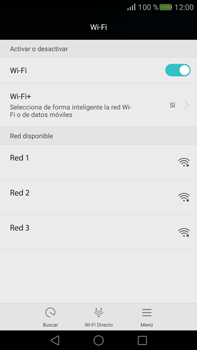 Configura el WiFi - Huawei Mate S - Passo 5