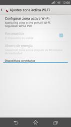 Configura el hotspot móvil - Sony Xperia E 4G - Passo 10