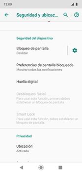 Desbloqueo del equipo por medio del patrón - Motorola Moto G7 Plus - Passo 5