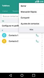 ¿Tu equipo puede copiar contactos a la SIM card? - LG X Power - Passo 5
