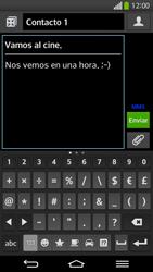Envía fotos, videos y audio por mensaje de texto - LG G Flex - Passo 12