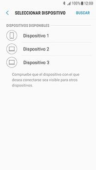 Transferir fotos vía Bluetooth - Samsung Galaxy J7 Prime - Passo 11