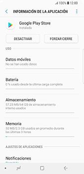 Limpieza de aplicación - Samsung Galaxy S9 - Passo 5