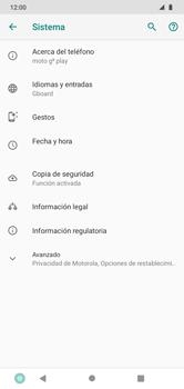Restaura la configuración de fábrica - Motorola Moto G8 Play (Single SIM) - Passo 5