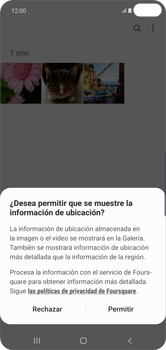 Transferir fotos vía Bluetooth - Samsung S10+ - Passo 4